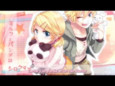 rin - Nico Nico Douga: http://www.nicovideo.jp/watch/sm19663995 Versión Original: http://www.nicovideo.jp/watch/sm13361994 Música: Gomu & Fernando-P (/mylist/20486...