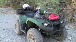 7. 2018 Yamaha Kodiak 450 riding Box Canyon AZ