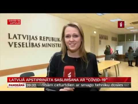 Saruna ar veselības ministri Ilzi Viņķeli par Latvijā apstiprināto saslimšanu ar COVID-19 infekciju