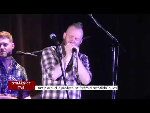 TVS Strážnice - Dustin Arbuckle předvedl ve Strážnici prvotřídní blues