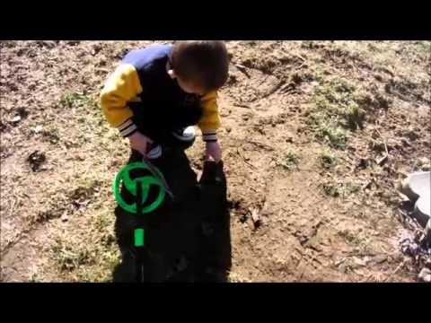 kyle first metal detecting hunt