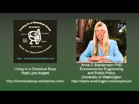 Toxins in Everyday Household Products with Anne Steinemann PhD