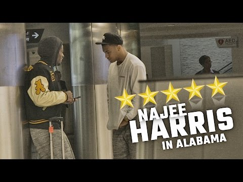 Watch as nation's top recruit arrives at Alabama