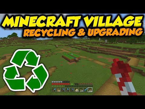 Destroying & Recycling An Entire 1.14 Minecraft Village