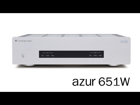 Azur 651W Power Amplifier