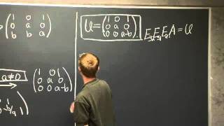 LU Decomposition | MIT 18.06SC Linear Algebra, Fall 2011