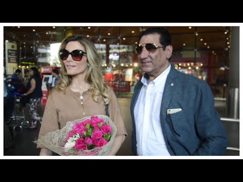 Hollywood Italian Actress Antonella Salvucci Spotted At The International Airport