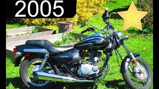 8. Starting & Showing 2005 Kawasaki Eliminator 125 (HD)