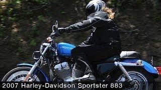 8. 2007 Harley-Davidson XL 883 Sportster First Ride - MotoUSA