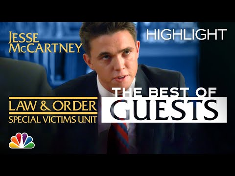 Jesse McCartney Gets the Third Degree from Stabler and Munch - Law & Order: SVU