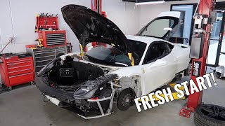 Rebuilding my Wrecked Ferrari - FINAL PART by TJ Hunt