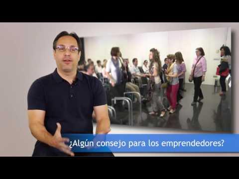 David Zaragoza Socio Fundador de Avanzis en #EnredateElx 2016[;;;][;;;]