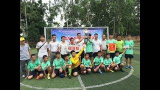 Đội bóng khu Tre Mai vô địch Giải bóng đá cúp thanh thiếu niên phường Nam Khê năm 2019