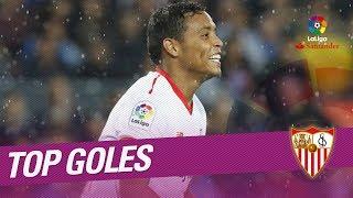 Video TOP Goals Sevilla FC LaLiga Santander 2017/2018 MP3, 3GP, MP4, WEBM, AVI, FLV Juni 2019