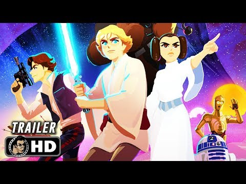 STAR WARS: GALAXY OF ADVENTURES Official Trailer (HD) Animated Shorts Series