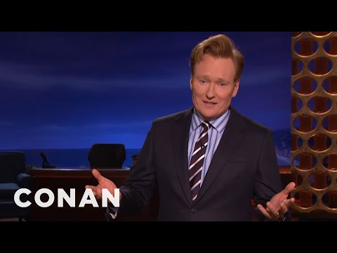 Conan O Brien on the 2016 US Election Results