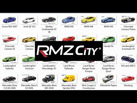 RMZ City Diecast Cars 1:36 scale