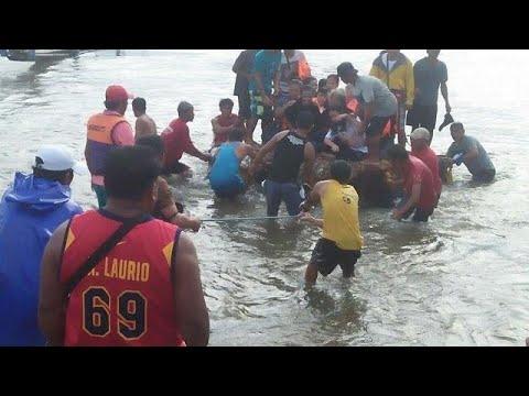Φιλιππίνες: Ναυάγιο με νεκρούς και αγνοούμενους