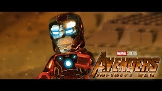 Download Video AVENGERS: Infinity War Official Trailer in LEGO! MP3 3GP MP4