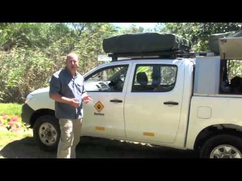 4×4 Hire South Africa – Toyota Hilux Review