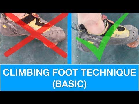 BASIC FOOT TECHNIQUE | CLIMBING TUTORIAL