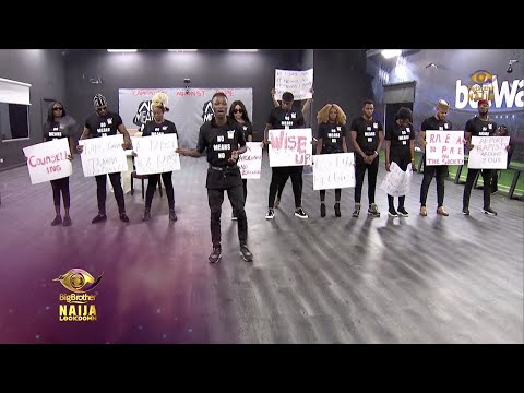 A GBV Wager Presentation   Big Brother: Lockdown   Africa Magic
