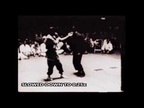Bruce Lee - Fastest Kick (slowed Down To 0.25x)