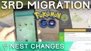 HUGE NEST CHANGES IN POKÉMON GO - THE THIRD GREAT MIGRATION by Trainer Tips