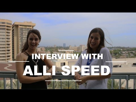 alli - Thanks everyone for watching! Subscribe to this channel for more behind the scenes and interviews. (Open for More Info) Alli Speed YouTube: https://www.youtu...