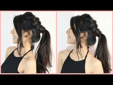 New hairstyle - New Amazing Messy Ponytail Hairstyle