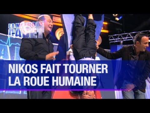Nikos Aliagas fait tourner la roue humaine - La Méthode Cauet