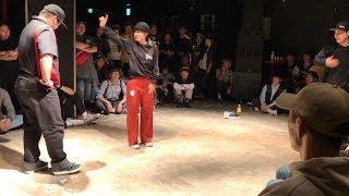 舞踊者 (Hiroki & Chun) vs Funky Bee (Ringo Winbee & Yu-to) – WDC 2019 KANTO ELIMINATION 4 STYLE 2on2 POP BEST4