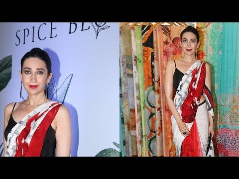 Satya Paul Preview Of Collection Spice Bloom Along With Karisma Kapoor
