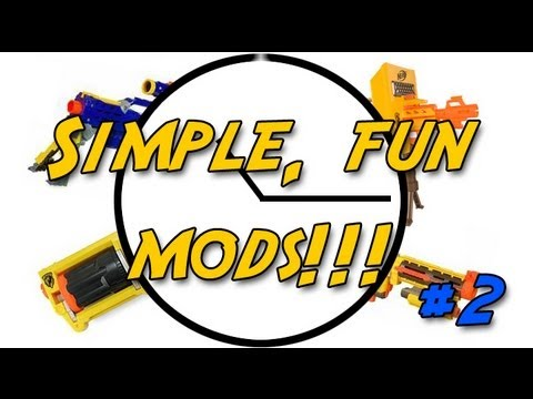 nerf mods - A maverick is the standard, popular choice for first timers and the mods to get decent performance are really easy. So grab some tools and pennies and get to...