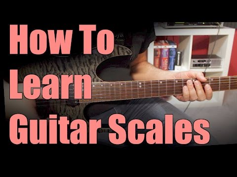 Learn Guitar Scales The Easy Way – part 1