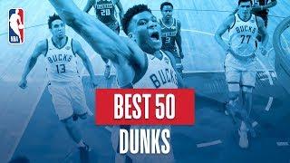 Download Video NBA's Best 50 Dunks | 2018-19 NBA Regular Season MP3 3GP MP4