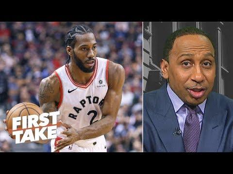 Video: Kawhi Leonard needs to step up for Raptors to make NBA Finals - Stephen A.   First Take