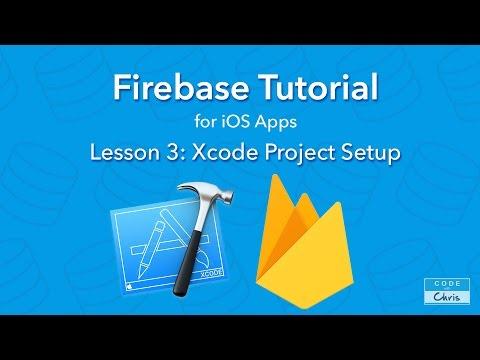 Firebase Tutorial – Ep 3 – Xcode Project Setup