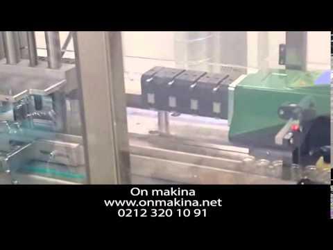 Flakon Dolum kapatma Makinası