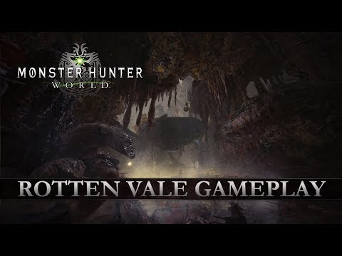 Monster Hunter: World - Rotten Vale Gameplay (видео)