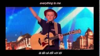 Cậu bé 12 tuổi tự sáng tác nhạc tỏ tình với bạn gái gây bão Tại Britain's Got Talent