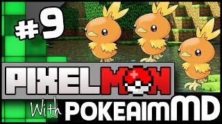 Minecraft Pixelmon Green w/ PokeaimMD, Akamaru, Blunder, Gator & steve! Ep 9 - HATCHING AND FACTS by PokeaimMD