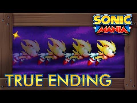 Sonic Mania - Super Sonic Finale (True Ending) (видео)