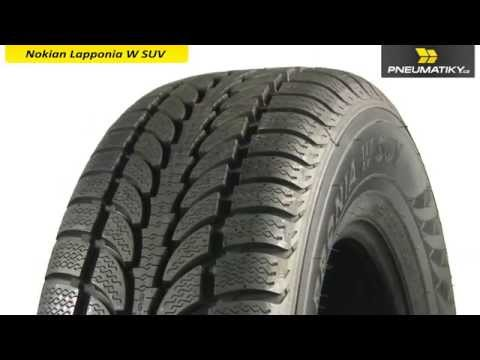 Youtube Nokian Lapponia W SUV 225/65 R17 102 H Zimní