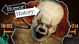 Video IT: The Complete History of Pennywise | Horror History MP3, 3GP, MP4, WEBM, AVI, FLV September 2019