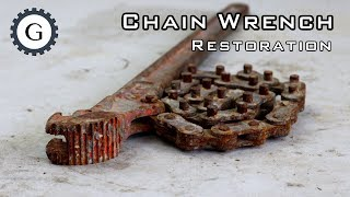 Video Chain Wrench Restoration | MCC Chain Wrench MP3, 3GP, MP4, WEBM, AVI, FLV Maret 2019