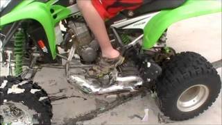 8. Kawasaki KFX 400 AFTERMARKET UPGRADES