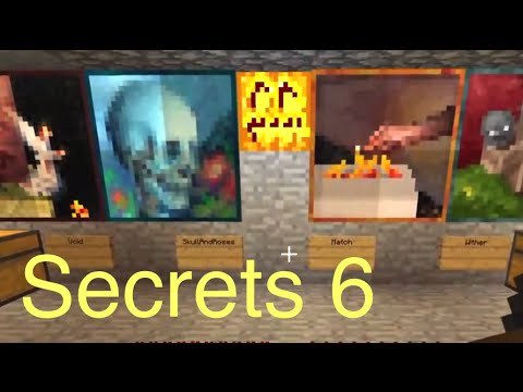 Minecraft: Secrets 6 – All Paintings (plus source)