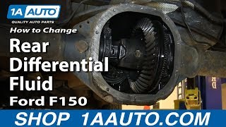 How To Change Rear Differential Fluid 04-14 Ford F150