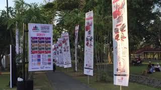 Perhelatan Prambanan Jazz Festival digelar di Kompleks Candi Prambanan, Yogyakarta, selama tiga hari sejak 18-20 Agustus 2017. Sederet musisi dalam negeri dan luar negeri menjadi pengisi acara dalam gelaran yang diadakan pada episode ketiga tersebut.(Kompas.com/Tri Susanto Setiawan)